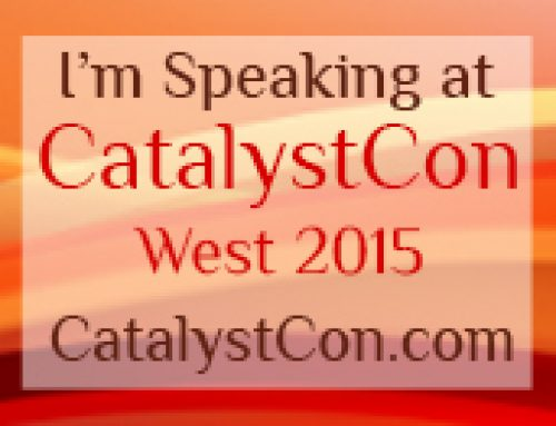 Steve Gustafson & Kristen DiAngelo Saturday Sept 12th, CatalystCon West