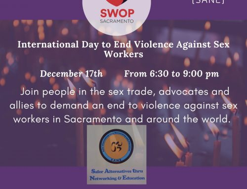 International Day to End Violence Against Sex Workers Event