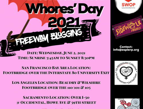 International Whores Day – June 2nd 2021