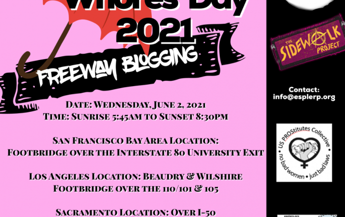 International Whore's Day - June 2, 2021